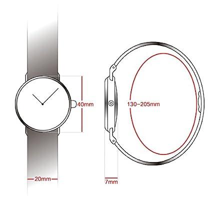 Alienwork-Unisex-Armbanduhr-Herren-Damen-Uhr-Nylon-Nato-Armband-Natoband-blau-Analog-Quarz-Herrenuhr-Damenuhr-rose-gold-Wasserdicht-Ultra-flach-dnn-Klassik