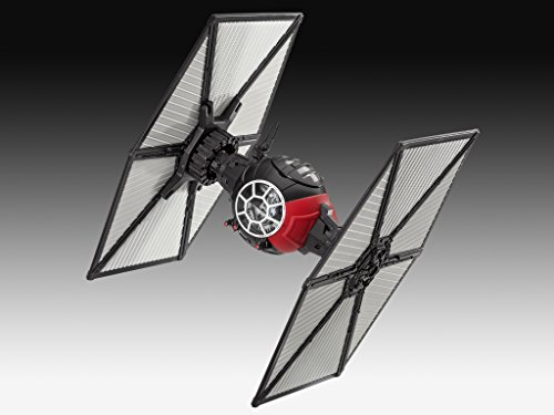 Revell-Modellbausatz-Star-Wars-First-Order-Special-Forces-TIE-Fighter-im-Mastab-151-Level-1-originalgetreue-Nachbildung-mit-vielen-Details-Build-Play-mit-LightSound-zum-Bauen-Spielen-06751