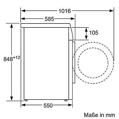 Bosch-WUQ28420-Waschmaschine-FrontladerA-1400-UpMAqua-Stop-SchlauchSchaumerkennung