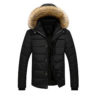 Yazidan-MNner-Draussen-Warm-Winter-Dick-Jacke-Plus-Pelz-Mit-Kapuze-Mantel-Sweatshirt-Herren-Slim-Fit-Langarmshirt-Strickpullover-Outwear-ReiVerschluss-Kapuzenpullover-Pullover-Langarm