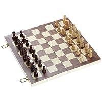 Philos-2509-Schach-Backgammon-Dame-Set-Feld-40-mm-Knigshhe-76-mm