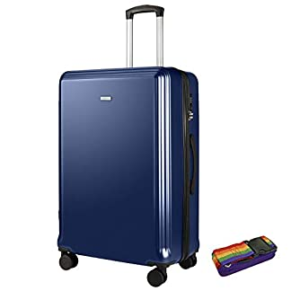AMASAVA-Koffer-Handgepck-Hartschalen-Trolley-Reisekoffer-4-Rollen-Koffer-Set-mit-TSA-Zahlenschloss-ABS-PC-Erweiterbare-Volume-3-teiliges-Set-Gepck-Set-55-cm-665-cm-765-cm