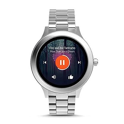 Fossil-Damen-Smartwatch-Q-Venture-3-Generation-Edelstahl-Silber-Elegante-moderne-Frauen-Smartwatch-Fr-Android-iOS