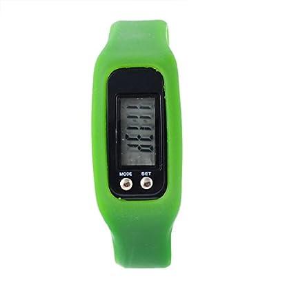 Souarts-Herren-Sportuhr-Hellgrn-Silikagel-Armbanduhr-Mode-Sport-Armbanduhr-mit-Schrittzhler-mit-Batterie