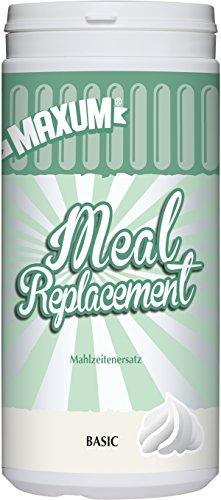 Maxum Meal Replacement – Der Mahlzeitersatz ist eine sättigende, vollwertige Ersatzmahlzeit mit einem cremigen Geschmack. Ideal als Diät-Shake zur Gewichtsabnahme. Ohne Aromen, Süß oder Farbstoffe