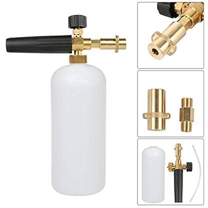 Professionelle-einstellbare-Messing-Schneeschaum-Lanze-Schaum-Dse-Schaum-Kanone-Hochdruckreiniger