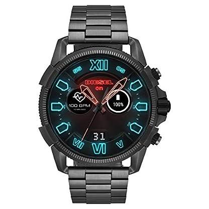 Diesel-Herren-Smartwatch-mit-Edelstahl-Armband-DZT2011