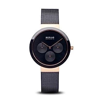 BERING-Damen-Analog-Quarz-Uhr-mit-Edelstahl-Armband-35036-166