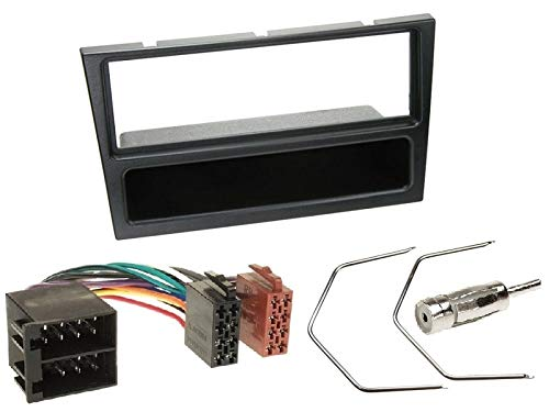 Pioneer-MVH-S110UI-1-DIN-Autoradio-mit-USB-AUX-Shortbody-fr-Opel-Agila-H00-2000-2007-schwarz