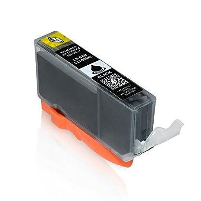 20-Logic-Seek-Druckerpatronen-MIT-CHIP-und-Fllstandsanzeige-fr-Canon-Pixma-iP4850-MG5150-MG5250-MG6150-MG8150-kompatibel-zu-PGI-525BK-CLI-526C-CLI-526M-CLI-526Y-und-CLI-526BK