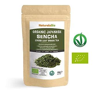 Japanischer-Grner-Tee-Sencha-Bio-Upper-grade-50g-100-natrlicher-reiner-grner-Tee-lose-in-Blttern-der-ersten-Ernte-die-in-Japan-angebaut-werden-Pure-Organic-Japanese-Sencha-Green-Tea