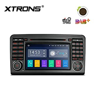 XTRONS-7-Android-Autoradio-mit-Touchscreen-Android-81-Quad-Core-DVD-Player-Autostereo-Full-RCA-Ausgang-4G-Bluetooth-2GB-RAM-16GB-ROM-DAB-OBD2-TPMS-Car-Auto-Play-FR-Mercedes-Benz