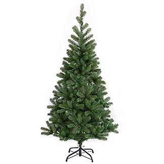 Casaria-Weihnachtsbaum-140cm-Metallstnder-LED-Lichterkette-Spritzguss-knstlicher-Tannenbaum-Christbaum-Baum-Tanne-Weihnachten