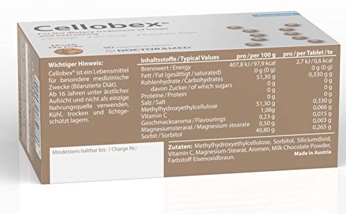 Cellobex® Appetitzügler Bequem Schlank 90 Natürliche Abnehmtabletten I Klinisch Bestätigt I Booster & Appetithemmer I Stark Abnehmen ohne Hunger