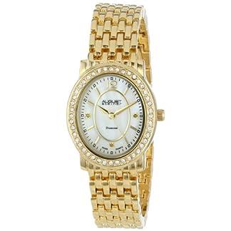August-Steiner-Damen-Marquess-Analog-Display-Oval-Armband-Armbanduhr