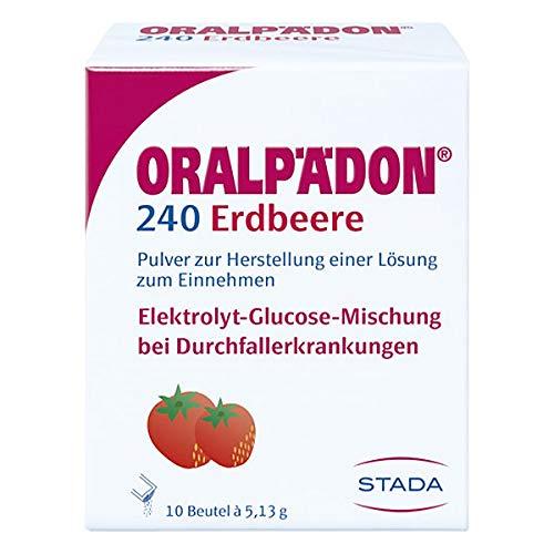 Oralpädon 240 Erdbeere 10 stk