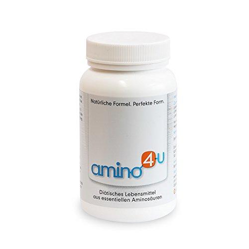 Amino4U alle 8 essentiellen Aminosäuren Muskelaufbau Dose, 120g