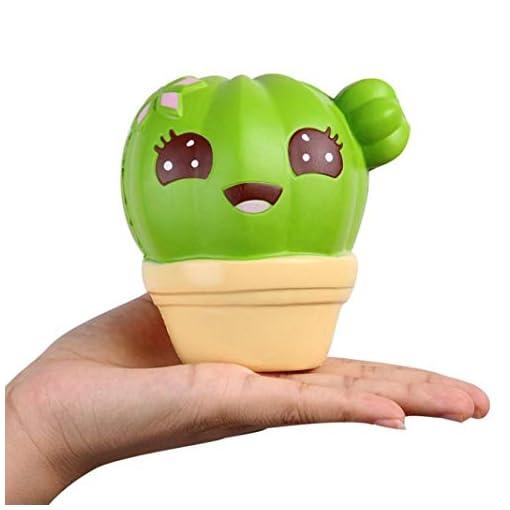 FORH-Kaktus-Duftender-Squishy-Langsames-Aufstehen-Squeeze-Spielzeug-Jumbo-Sammlung-Gesicht-Squeeze-Spielzeug-Squishy-Langsam-Rising-Druck-Relief-Stress-Dekompressionsspielzeug-Simulation-Phone-Strap
