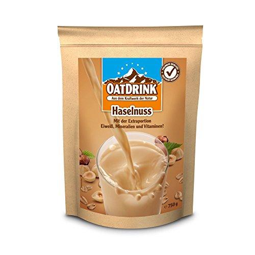 Oat Drink Premium Shake, Haselnuss, 1er Pack (1 x 750 g)