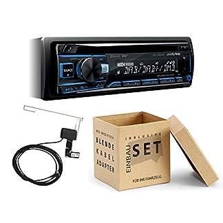 Alpine-CDE-205DAB-1-DIN-Autoradio-mit-DAB-CD-USB-Bluetooth-inkl-Antenne-fr-BMW-Z4-Roadster-E85-2003-2008-anthrazit
