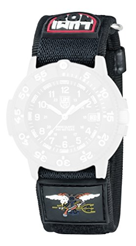 Luminox-Armband-fr-3901-3903-3905-3000-3050-3080-schwarz-Nylon-27-mm-Anschlag