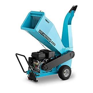 Hillvert-HT-HECTOR-420-Gartenhcksler-Messerhcksler-Benzin-Hcksler-15-PS-100-mm-Holzhcksler-Schredder-Walzenhcksler