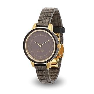 LAiMER-Holzuhr-Damen-Armbanduhr-aus-100-Holz-mit-innovativem-Flex-Holzarmband-fr-einzigartigen-Tragekomfort-und-Lifestyle-natrlich-edel-Sdtirol