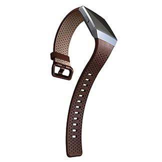 Fitbit-Ersatzarmband-Horween-Leder-Cognac