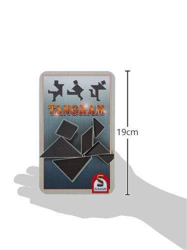 Schmidt-Spiele-51213-Tangram-Metalldose