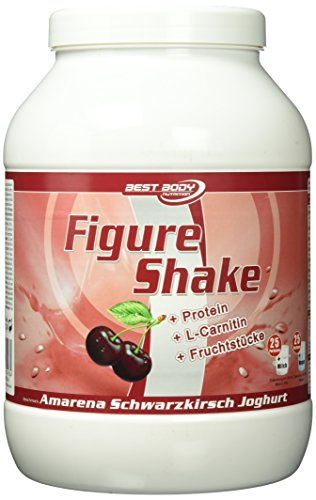 Best Body Nutrition Figure Shake, Amarena-Schwarzkirsche, 750g Dose