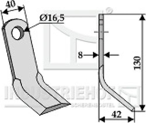 Y-Messer-Mulchmesser-63-NOB-16-passend-fr-Kuhn-Nobili-Orsi-Vogel-Noot-Wiwexa-Mulcher