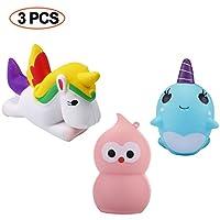 acetek-Squishy-Kawaii-Spielzeug-3PCS-Se-Antistress-Toys-Kinder-Party-Geschenk-Schlsselanhnger-Dekoration