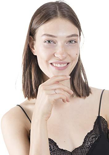 Happiness Boutique Damen Zarter Ring Welle in Rosegold   Filigraner Wellenförmiger Ring aus Edelstahl