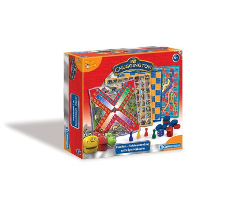 Clementoni-691647-Chuggington-Familien-Spielesammlung-Classic-Collection