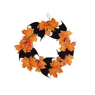 Wankd-Herbst-Kranz-Herbst-Deko-Kranz-Mit-Leichtem-Sonnenblumenkrbis-Trkranz-Tischkranz-Deko-Wandschmuck-Thanksgiving-Halloween-Weihnachts-Blatt-Dekoration-Pendant-Kranz