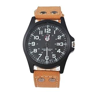 MJARTORIA-Herren-Analog-Quarzuhr-Gelb-PU-Leder-Armband-schwarz-Zifferblatt-Uhr-Mnner-Jungen-Armbanduhr-Geschenk
