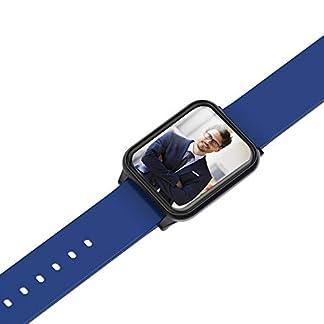 VRTUR-Herren-Damen-Bluetooth-Wasserdicht-Smartuhr-Multi-Functional-Smartwatch-Fitness-Tracker-Sport-Uhr-mit-Schrittzhler-und-Pulsmesser-Intelligente-Armbanduhr