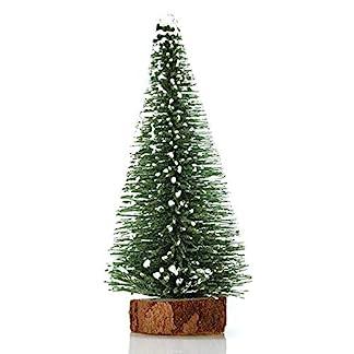 Anyutai-10-Bag-10cm-Zeder-Weihnachtsbaum-knstlicher-Weihnachtsbaum-Zeder-Baum-Feiertagsdekoration-Metall-Weihnachtsbaum-Rahmen-Einkaufszentrum-Hauptfenster-Dekoration