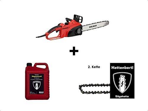 Dolmar-Elektrokettensge-ES-39TLC-35-cm-Schwert-2ter-Kette-5l-Kettenbertl-Premium-Sgekettenl