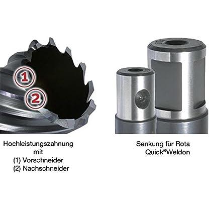 Alfra-0007613270161-Kernbohrer-1650mm-aus-HSS-Co-RQX-Stahl
