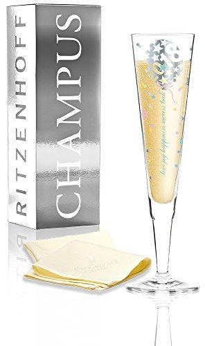 Ritzenhoff-CHAMPUS-Jahrgangsglas-2018-Kathrin-Stockebrand-Champagnerglas-Sektflte