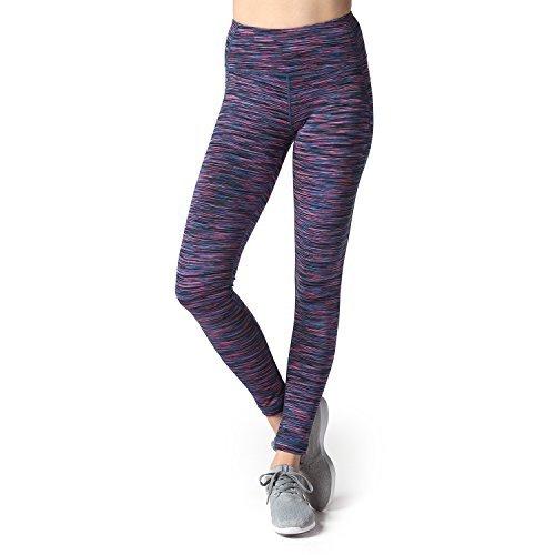 Lapasa Damen Sport Leggings – TUMMY CONTROL – High Waist Lang Yoga Sportleggings Übergröße Sporthosen Tights für Gym Fitness Workout L01