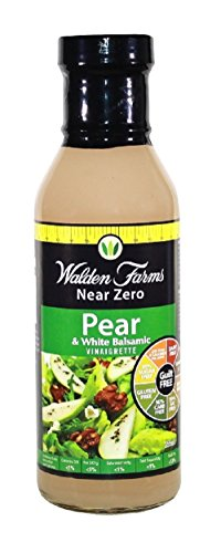 Walden Farms Salad Dressings Pear and White Balsamic Vinaigrette 6 Stück