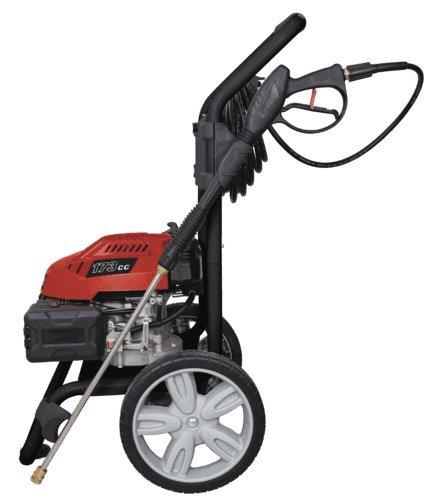 Scheppach-5907701903-ReinigungsgertBenzin–Hochdruckreiniger-HCP-2600-mit-5-Dsenaufstzen-Reinigungslanze-75m-Hochdruckschlauch-und-Zufhrung-fr-Reinigungsmittel-4-Takt-Motor-mit-173cm