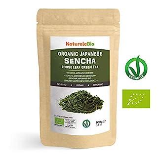 Japanischer-Grner-Tee-Sencha-Bio-Upper-grade-100g-100-natrlicher-reiner-grner-Tee-lose-in-Blttern-der-ersten-Ernte-die-in-Japan-angebaut-werden-Pure-Organic-Japanese-Sencha-Green-Tea