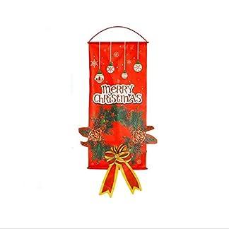 Asmodae-Weihnachten-Deko-Weihnachten-Wanddeko-Weihnachten-Hnger-Weihnachtsmann-und-Girlande