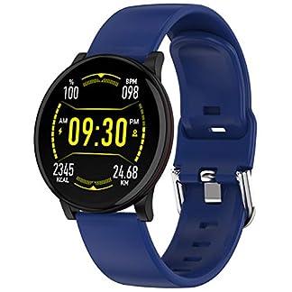 Fitness-Uhr-Damen-mit-Blutdruckmessung-Schwimmmodus-IP68-Wasserdicht-Unix-Smartwatch-Herzfrequenz-Schlafmonitor-Andriod-IOS