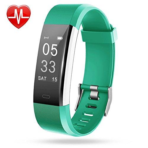 Fitness-Armband-Plus-Aktivittstracker-Point-Touch-Smart-Bracelet-Pulsmesser-Kalorienzhler-Schrittzhler-Schlafmonitor-Wasserdicht-IP67-Sport-Armband-SMS-Anrufe-Reminder-fr-iOS-und-Android