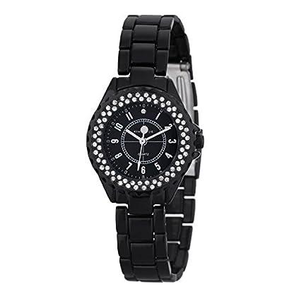 Kim-Jade-Damen-Analog-Quarz-Uhr-mit-Edelstahl-Armband-2033L-BB
