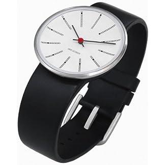 Rosendahl-Unisex-Armbanduhr-Analog-Edelstahl-weiss-43450